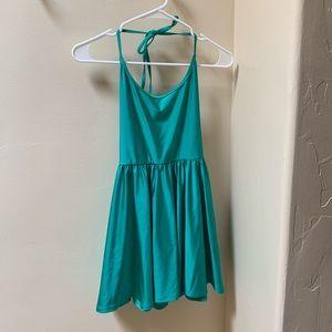 American Apparel emerald green dress